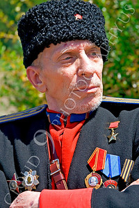 HR-RC 000005 A Russian cossack historical reenactor, by Peter J Mancus