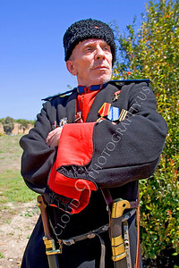 HR-RC 000003 A Russian cossack historical reenactor, by Peter J Mancus