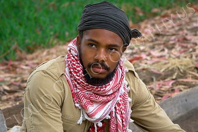 HR-TWI 00003 A Third World insurgent reenactor, by Peter J Mancus