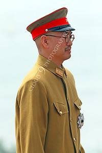 HR-WWIIIJS 00035 A World War II Imperial Japanese Army officer, historical re-enactor picture by Peter J Mancus