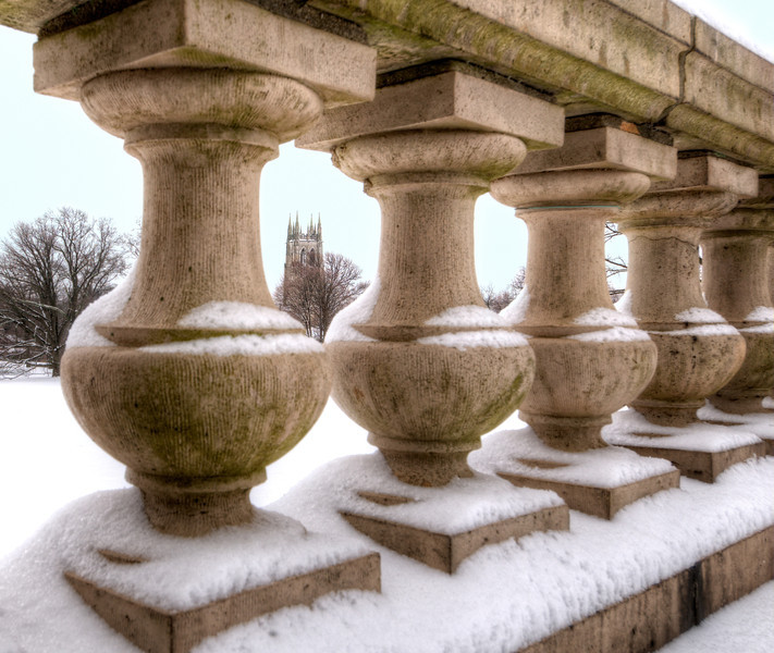 Cairnwood Balusters with a View