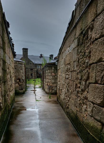 Rainy Narrow Alley