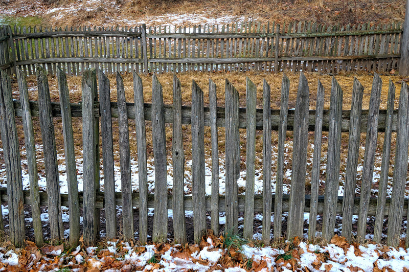 Picket Fence Rows