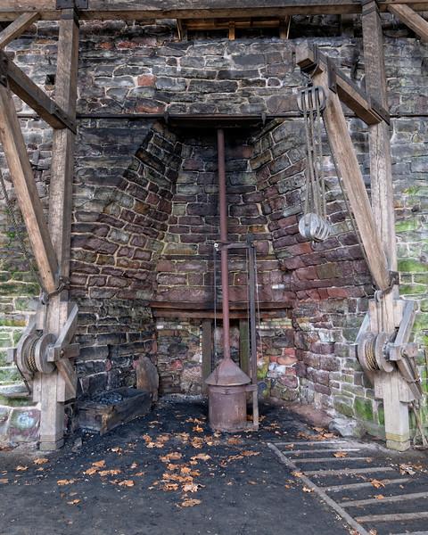 The Furnace in Hopewell Furnace