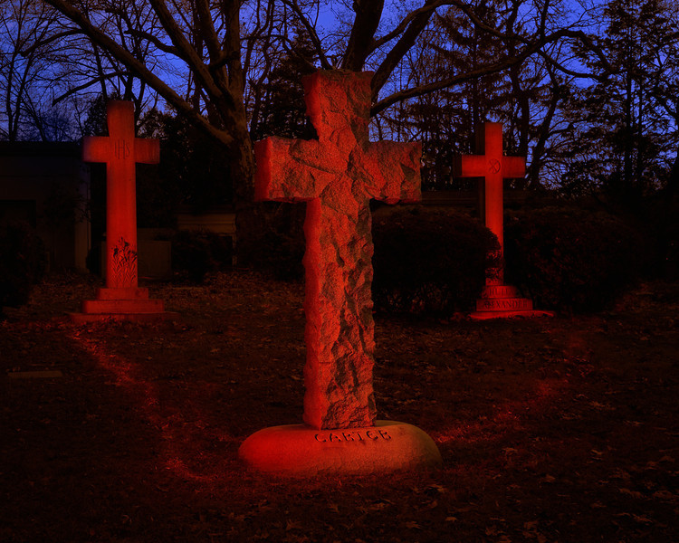 Crosses in Red