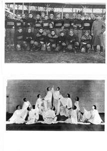 1931 UWL Football and Theater