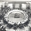 Inaugural meeting of Asia-Pacific Economic Cooperation (APEC) in Canberra, Australia, 1989.