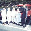New Zealand Ambassador to Korea David Holborow presents a mini-van to the Little Sisters of the Poor, Seoul, 1986.