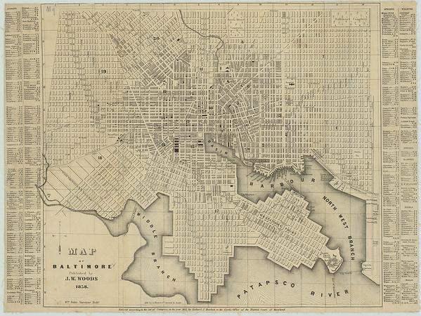 1858 City Directory