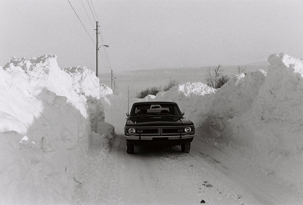 Blizzard 1978<br /> 1-28-78<br /> downtown<br /> Kokomo Tribune Photo