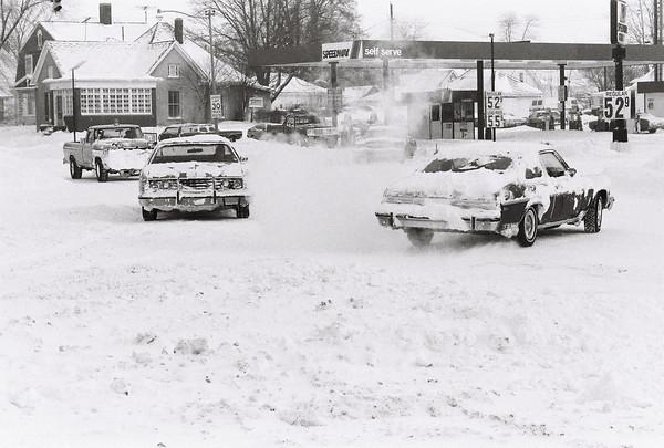 Blizzard 1978<br /> 1-26-78<br /> <br /> Kokomo Tribune Photo