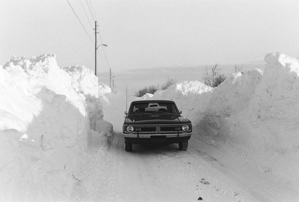 Blizzard 1978<br /> 1-28-78<br /> Kokomo Tribune Photo