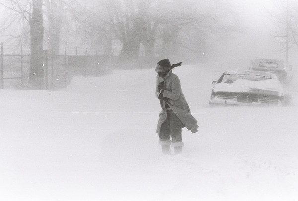 Blizzard 1978<br /> 1-26-78<br /> downtown<br /> Kokomo Tribune Photo