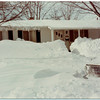 Blizzard of 1978 - January<br /> 612 James Drive<br /> Monte Snyder's house, he said it took 3 days to get out.<br /> Provided photo