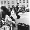Photo by Paul Sancya. Howard County Courthouse bomb. 4/15/87/