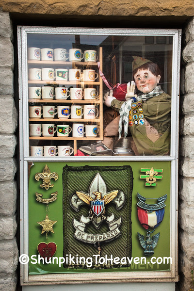 Boy Scout Display, Mansfield, Ohio