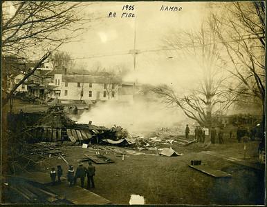 1905 RR Fire, La Moille IL
