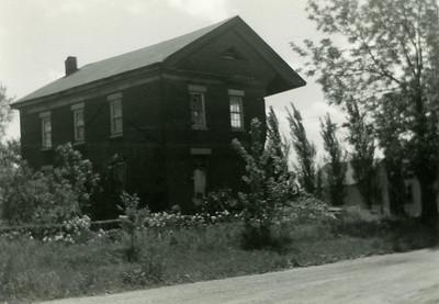 La Moille, IL Old Brick School House 1200dpi065