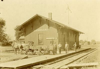 1900, LaMoille Railroad Depot, La Moille IL