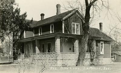 John Long residence, La Moille IL