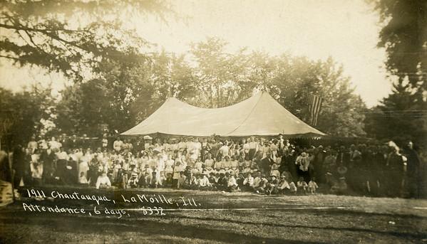 1911 Chautauqua, Attendance, 6 days, 8332, La Moille IL