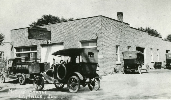 McCray Garage and Ford Dealership, La Moille IL