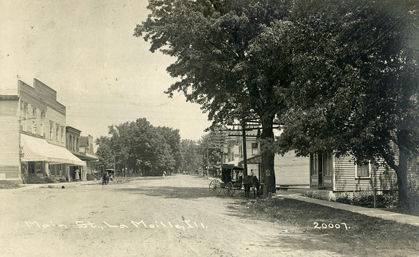 Main St, La Moille IL