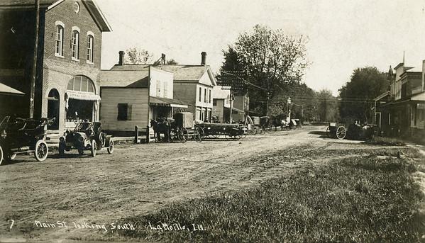 1900, Main St looking south, La Moille IL