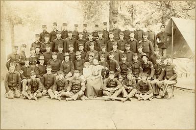 Company K, Spanish American War, La Moille IL