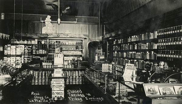 Reed Drugstore, La Moille IL