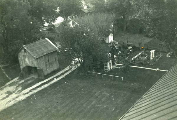 La Moille, IL view from Congregational church tower looking northwest 1952 1900dpi017