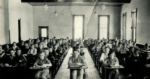 La Moille, IL Alan School Mid 1930's High School  1200dpi062