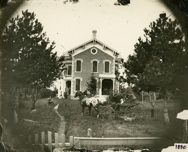1880, former Chas Woods home, La Moille IL