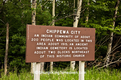 Site of Chippewa City, Cook County, Minnesota