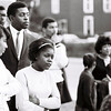 April 1968<br /> NAACP march in Kokomo Indiana after the death of Dr. Martin Luther King. The march went from the Howard County Courthouse downtown to Carver Community Center on North Bell.<br /> KT file photo