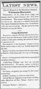 1861 06 12 Edgefield_Advertiser_Wed__Jun_12__1861_ Edgefield, SC (Merrill firearms confiscated by Bonifant)