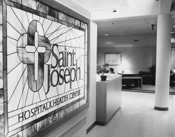 1987<br /> St. Joseph Hospital<br /> or St. Joseph Memorial Hospital<br /> KT file photo