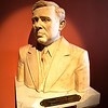 Bust of Huey Long, Governor of Louisiana (1928-1932)<br /> Louisiana's Old State Capitol <br /> Baton Rouge, LA