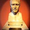 Bust of Napoleon Bonaparte, who sold Louisiana Territory to the United States<br /> Louisiana's Old State Capitol <br /> Baton Rouge, LA