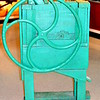 """CORN SHELLER""<br /> (used to separate kernels from the cob)<br /> <br /> River Road Queen Welcome Center <br /> Greenville, MS"