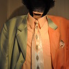 """CLOTHES BELONGING TO AND WORN BY BLUES SINGER, MISSISSIPPI SLIM""<br /> (1943-2010)<br /> <br />  <a href=""http://mississippislim.com/"">http://mississippislim.com/</a><br /> <br /> River Road Queen Welcome Center <br /> Greenville, MS"