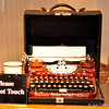 """UNDERWOOD STANDARD PORTABLE TYPEWRITER""<br /> <br /> River Road Queen Welcome Center <br /> Greenville, MS"