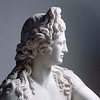 Detail of a Roman Statue of Apollo Holding a Lyre --- Image by © Mimmo Jodice/CORBIS