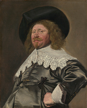Working Title/Artist: Frans Hals: Portrait of a Man, possibly Nicolaes Pietersz Duyst van Voorhout (born about 1600, died 1650)Department: European PaintingsCulture/Period/Location: HB/TOA Date Code: Working Date: <br /> photography by mma, Digital File DP124055.tif<br /> retouched by film and media (jnc) 6_23_11