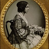 Unidentified young African American woman, profile view. Daguerreotype by Thomas M. Easterly,  no date Missouri History Museum Archives. Easterly Daguerreotype Collection  n17332