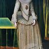 Elizabethan Woman 18th Century Artist Unknown (British) Oil On Wood Panel David David Gallery, Philadelphia, Pennsylvania, USA