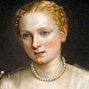 "Portrait of a Woman, called ""La bella Nani"". Canvas, 119 x 103 cm. R.F. 2111."