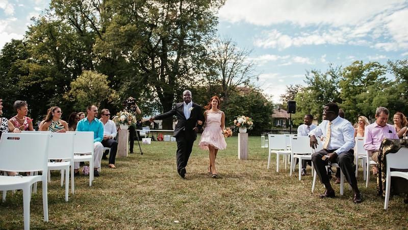 Mariage laïque au domaine de Choully