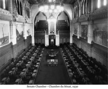 Senate Chamber - Chambre du Sénat, 1930