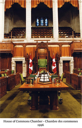 House of Commons Chamber - Chambre des communes, 1996